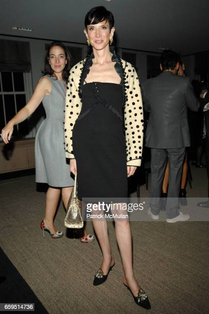 Amy Fine Collins attends Santiago Barberi Gonzalez hosts intimate dinner for Pamela Golbin to celebrate the launch of her book on Madeleine Vionnet...