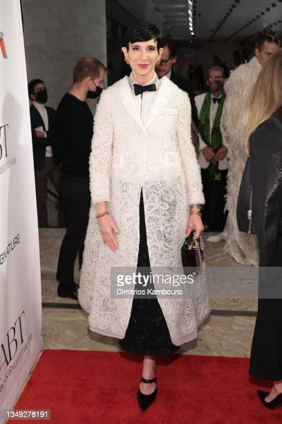 Amy Fine Collins attends the American Ballet Theatre's Fall Gala at David H. Koch Theater at Lincoln Center on October 26, 2021 in New York City.