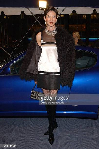 Amy Fine Collins during The Return Of Maserati To America at Four Seasons Restaurant in New York City New York United States