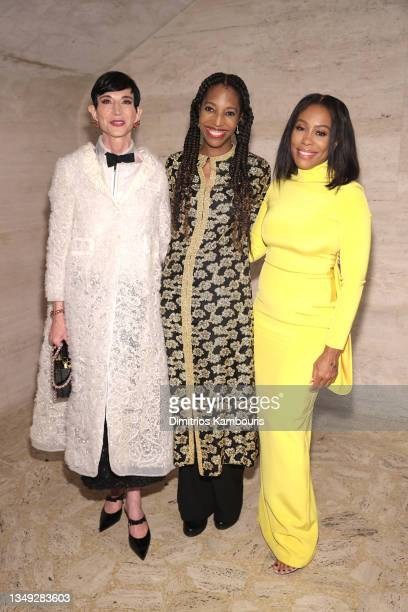 Amy Fine Collins, Keli Goff and Karen Pittman attend the American Ballet Theatre's Fall Gala at David H. Koch Theater at Lincoln Center on October...