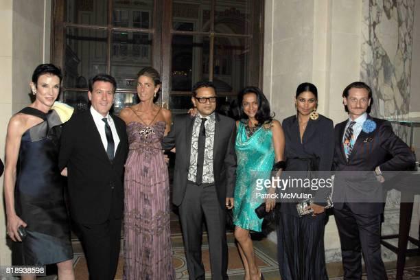 Amy Fine Collins Michael Bruno Somers Farkas Naeem Khan Ranjana Khan Rachel Roy and Hamish Bowles attend LIGHTHOUSE INTERNATIONAL A Posh Affair...