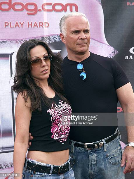 Amy Fisher and her Husband during Bodogcom Presents the 2006 Lingerie Bowl at Los Angels Memorial Coliseum in Los Angeles California United States