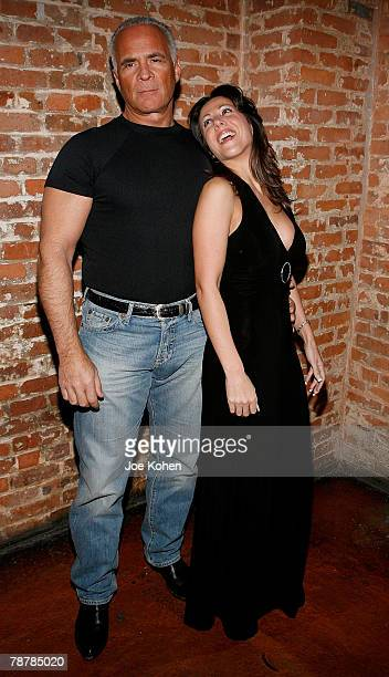 Amy Fisher and husband Lou Bellera attend the Amy Fisher Caught on Tape release party held at Retox club on January 4 2008 in New York City
