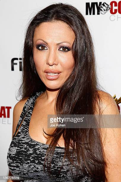 Amy Fisher attends Celebrity Fight Night Official Press Conference on September 26 2011 in Beverly Hills California
