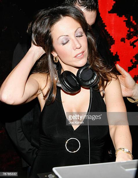 Amy Fisher DJ's at the Amy Fisher Caught on Tape Release Party held at Retox club on January 4 2008 in New York City