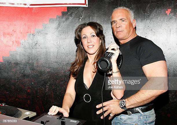 Amy Fisher DJ's with husband Lou Bellera at the Amy Fisher Caught on Tape Release Party held at Retox club on January 4 2008 in New York City