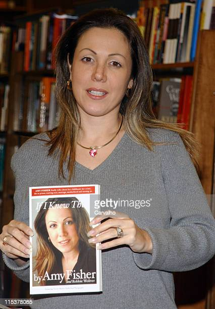 Amy Fisher during Amy Fisher Signs Copies Of Her New Book If I Knew Then at Barnes And Noble in New York City New York United States