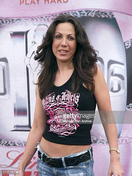 Amy Fisher during Bodogcom Presents the 2006 Lingerie Bowl at Los Angels Memorial Coliseum in Los Angeles California United States