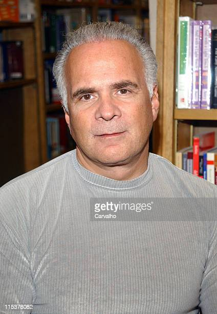 Amy Fisher's husband Lou during Amy Fisher Signs Copies Of Her New Book If I Knew Then at Barnes And Noble in New York City New York United States