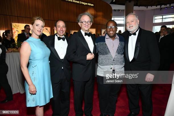 Amy Fleischer Chip FliescherWilliam Ivey Long Michael Jackson and Jon Fox attend The Ucross Foundation's Inaugural New York Gala Awards Dinner at...