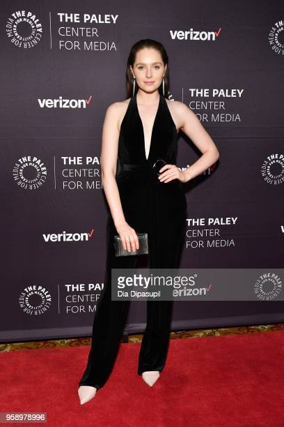 Amy Forsyth attends the 2018 Paley Honors at Cipriani Wall Street on May 15 2018 in New York City