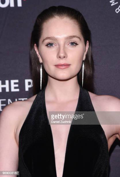 Amy Forsyth attends the 2018 The Paley Honors at Cipriani Wall Street on May 15 2018 in New York City