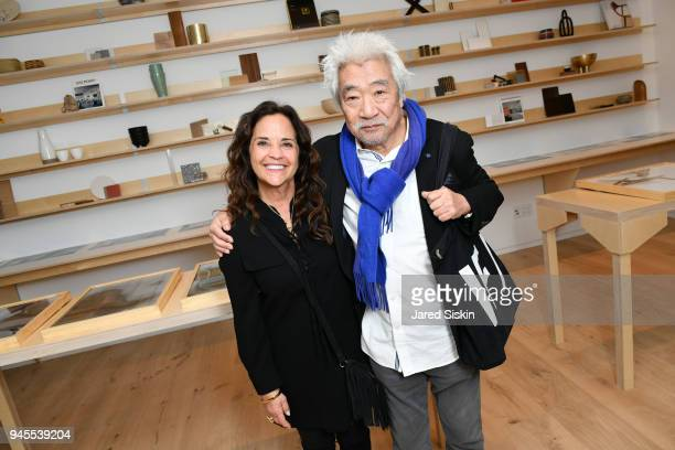 Amy Frankel and Toshiaki Ide attend AVENUE invites you to celebrate our March/April issue and the launch of 90 Morton on April 12 2018 in New York...