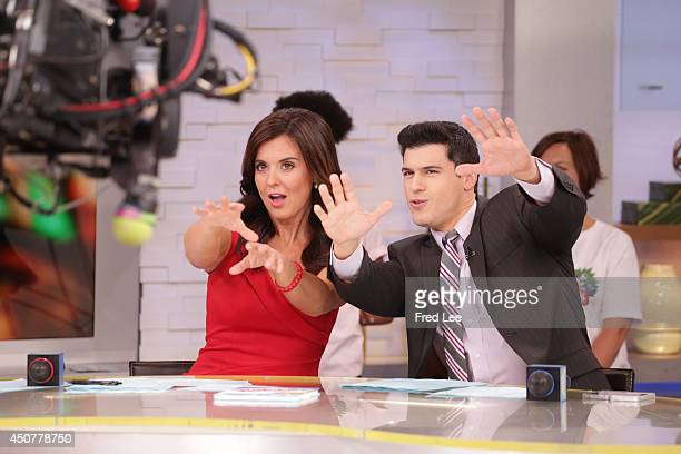 AMERICA Amy Freeze and Gio Benitez on Good Morning America 6/17/14 airing on the Walt Disney Television via Getty Images Television Network AMY