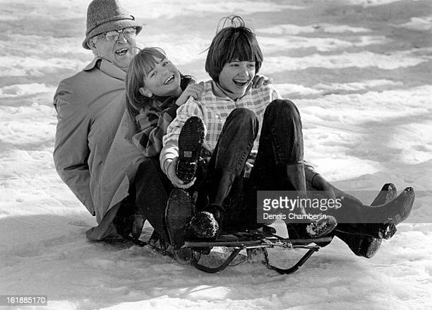 DEC 29 1986 Amy Furber and her sister Andrea Furber of Sebastopol CA CD are visiting Denver for the holidays and their grandfather Harold Rumbaugh...