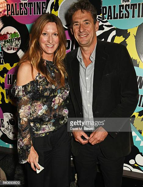 Amy Gadney and Tim Bevan attend 'Hoping's Greatest Hits' the 10th anniversary of The Hoping Foundation's fundraising event for Palestinian refugee...