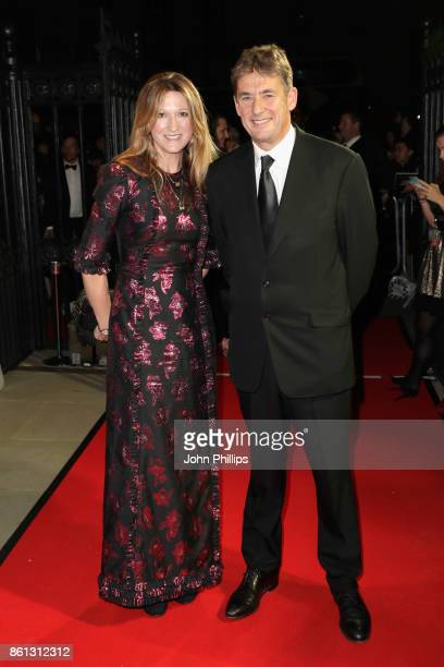 Amy Gadney and Tim Bevan attend the 61st BFI London Film Festival Awards on October 14 2017 in London England