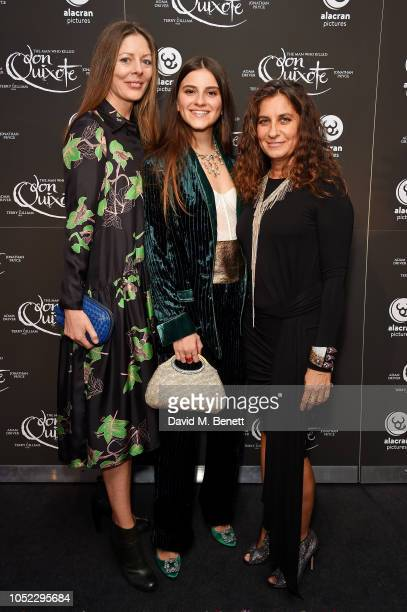 Amy Gilliam Amy Gilliam and Giorgia Lo Savio attend the Alacran Pictures screening of 'The Man Who Killed Don Quixote' during the annual LFF at...
