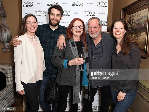 Amy Gilliam Harry Gilliam Maggie Gilliam Terry Gilliam and Holly Gilliam attend a private screening of 'The Zero Theorem' at the Charlotte Street...