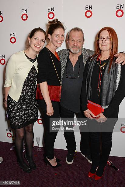 Amy Gilliam Holly Gillam Terry Gilliam and Maggie Weston attend an after party celebrating the press night performance of 'Benvenuto Cellini'...