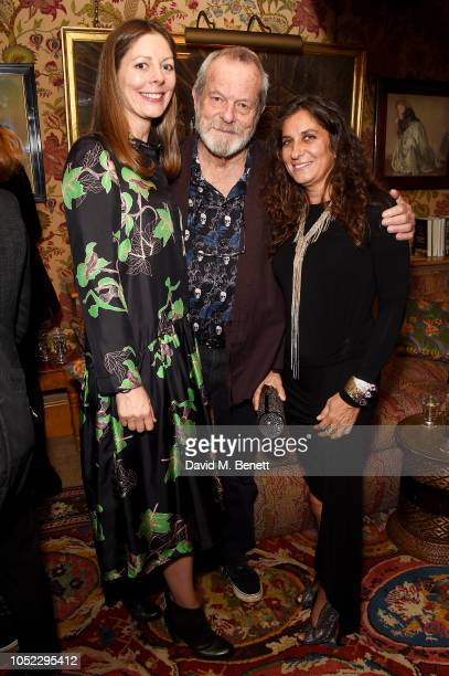 Amy Gilliam Terry Gilliam and Giorgia Lo Savio attend the Alacran Pictures party celebrating the screening of The Man Who Killed Don Quixote during...