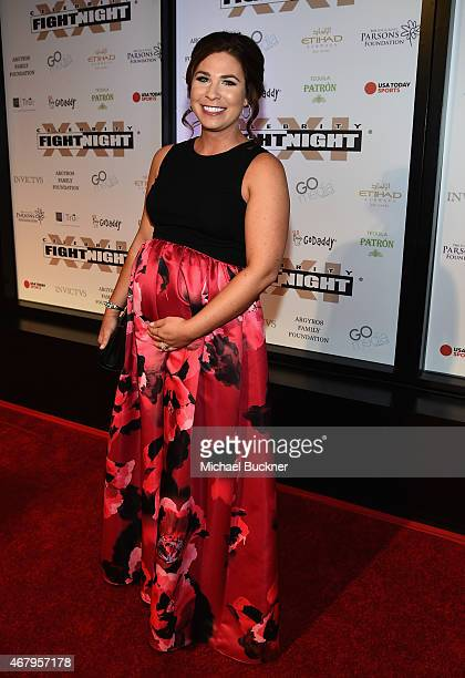 Amy Goldschmidt attends Muhammad Ali's Celebrity Fight Night XXI at the JW Marriott Phoenix Desert Ridge Resort Spa on March 28 2015 in Phoenix...