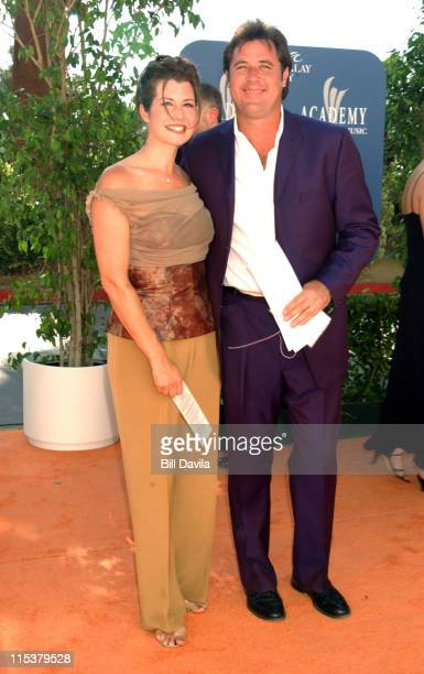 Amy Grant and Vince Gill during 38th Annual Academy of Country Music Awards Arrivals at Mandalay Bay Events Center in Las Vegas Nevada United States