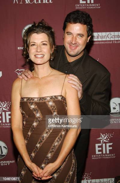 Amy Grant and Vince Gill during Katie Couric and the Entertainment Industry Foundation Unite Hollywood Broadway Stars to Launch The Jay Monahan...