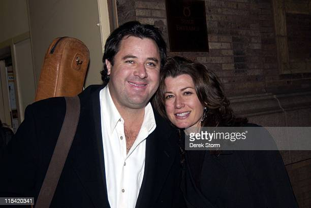 Amy Grant and Vince Gill during The Music of Joni Mitchell at Carnegie Hall February 1 2006 at Carnegie Hall in New York City New York United States