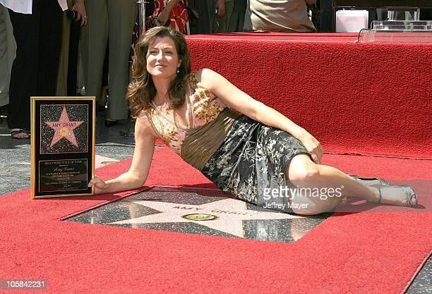 Amy Grant during Amy Grant Honored with a Star on the Hollywood Walk of Fame at Hollywood Boulevard in Hollywood California United States