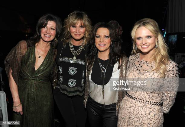 Amy Grant Jennifer Nettles Martina McBride and Miranda Lambert attend 2014 MusiCares Person Of The Year Honoring Carole King at Los Angeles...