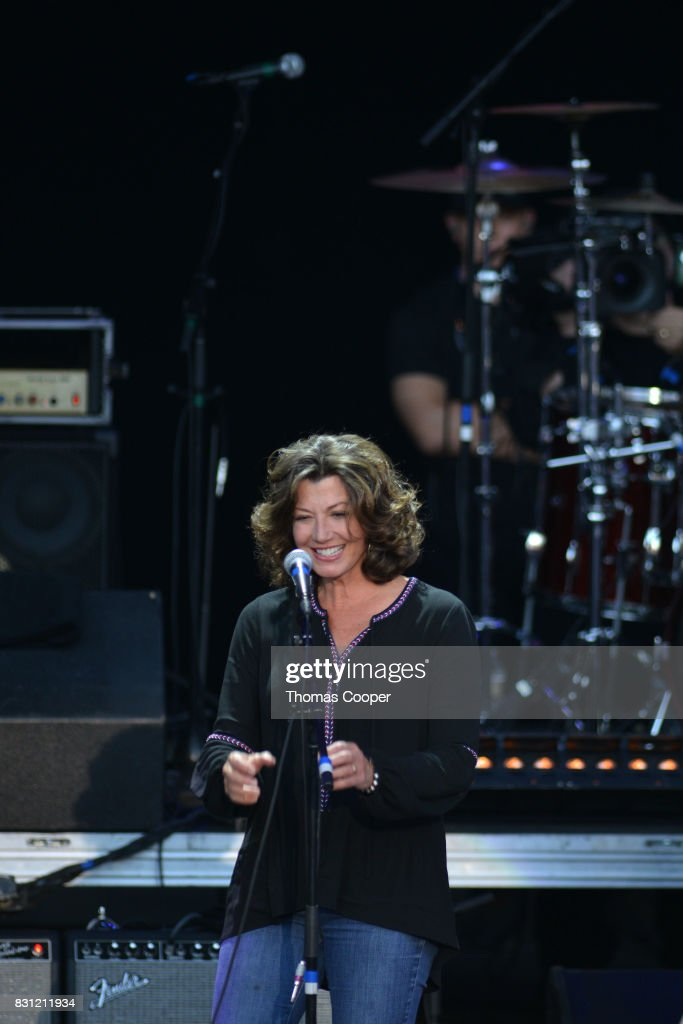 Amy Grant performs during The Rocky Mountain Way honoring inductee's into the Colorado Music Hall of Fame event at Fiddler's Green Amphitheatre on August 13, 2017 in Englewood, Colorado.