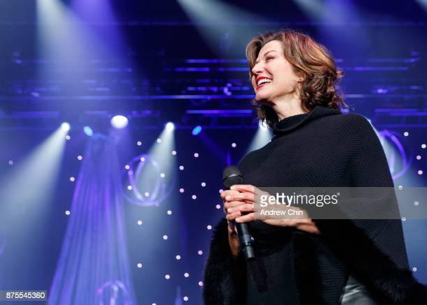 amy grant performs on stage at abbotsford centre on november 17 2017 in abbotsford canada