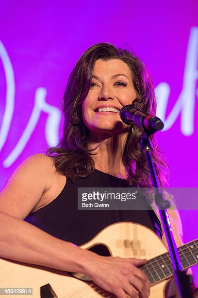 Amy Grant Preforms at Eat Drink Party Pink at the Rosewall on September 30 2014 in Nashville Tennessee