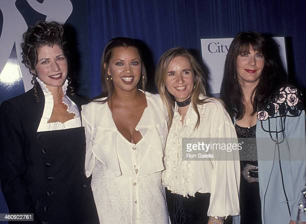 Amy Grant Vanessa Williams Melissa Etheridge and Kathy Mattea attend City of Hope 'The Spirit of Life' Benefit on September 30 1993 at the Beverly...
