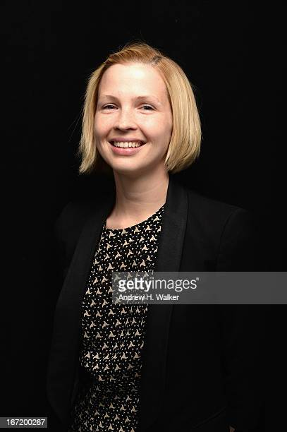 Amy Grantham actress in the film 'Lily' poses at the Tribeca Film Festival 2013 portrait studio on April 22 2013 in New York City