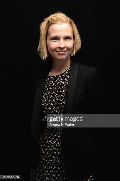 Amy Grantham actress in the film Lily poses at the Tribeca Film Festival 2013 portrait studio on April 22 2013 in New York City