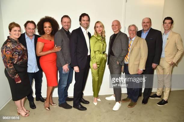 Amy Gravitt EVP HBO Programming actors Stephen Root Paula Newsome writer Alec Berg actors Bill Hader Sarah Goldberg Anthony Carrigan Henry Winkler...