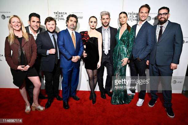 Amy Greene, Ara Keshishian, Haley Joel Osment, Director Joe Berlinger, Lily Collins, Zac Efron, Angela Sarafyan, Michael Werwie, and Michael Simkin...