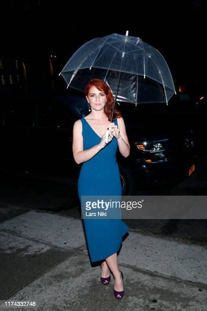 Amy Halldin attends Tiffany Panhilason's NYFW Fundraising Event For Mentari on September 12 2019 in New York City