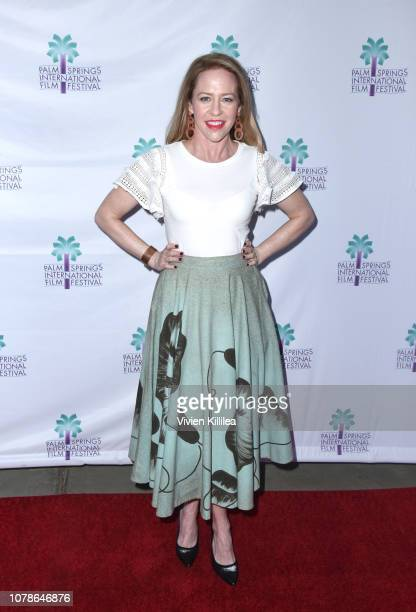 Amy Hargreaves attends a screening of 'Buck Run' at the 30th Annual Palm Springs International Film Festival on January 6 2019 in Palm Springs...