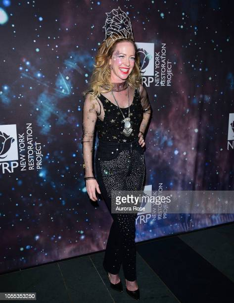 Amy Hargreaves Attends Bette Midler's New York Restoration Project's 22nd Annual Hulaween Event at Cathedral of St John the Divine on October 29 2018...