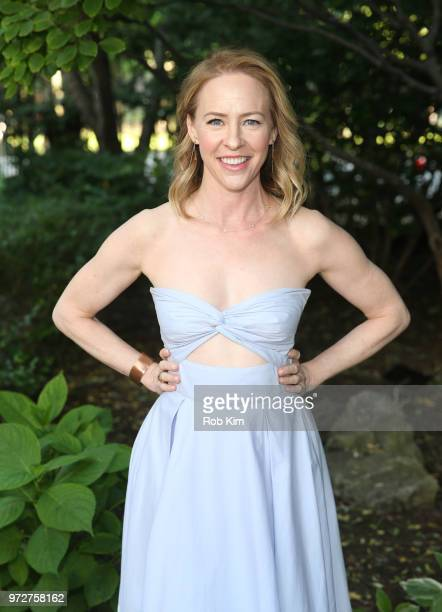 Amy Hargreaves attends New York Restorations Project 2018 Annual Spring Picnic on June 12 2018 in New York City