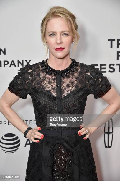 Amy Hargreaves attends the Super Dark Times Premiere during 2017 Tribeca Film Festival at Cinepolis Chelsea on April 20 2017 in New York City