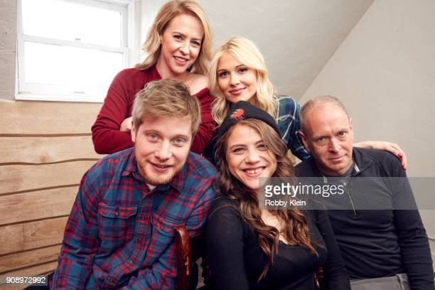 Amy Hargreaves Josh Caras Comfort Clinton Olivia Luccardi and Michael Walker from the film 'Paint' pose for a portrait in the YouTube x Getty Images...