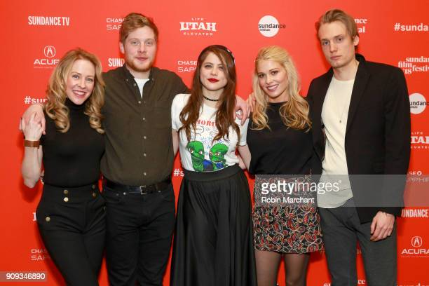 Amy Hargreaves Josh Caras Olivia Luccardi Comfort Clinton and Paul Cooper attends the Indie Episodic Program 1 during 2018 Sundance Film Festival at...