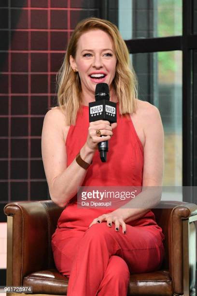 Amy Hargreaves visits the Build Series to discuss '13 Reasons Why' at Build Studio on May 23 2018 in New York City