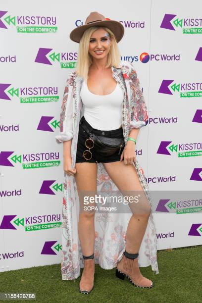 Amy Hart attends KISSTORY On The Common at Streatham Common