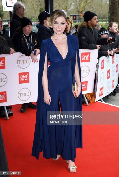 Amy Hart attends the TRIC Awards 2020 at The Grosvenor House Hotel on March 10, 2020 in London, England.