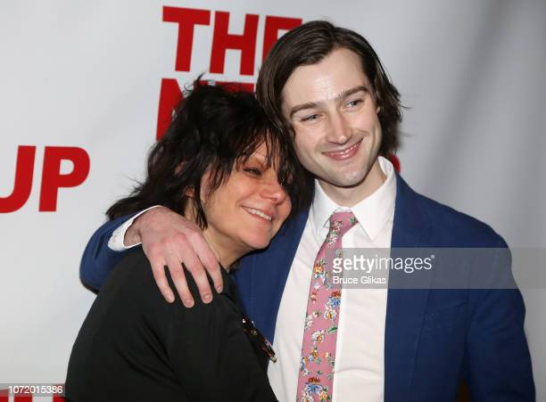 Amy Heckerling and Will Connolly pose at the opening night after party for the new musical based on the iconic film Clueless at The Green Fig Urban...